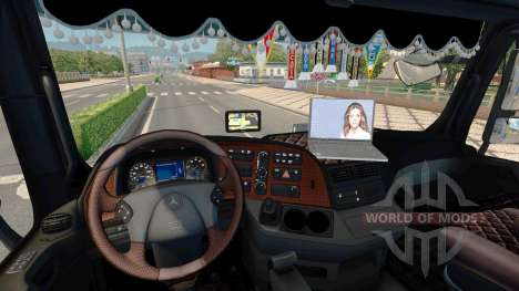 Tuning for Mercedes-Benz Actros MP3 for Euro Truck Simulator 2