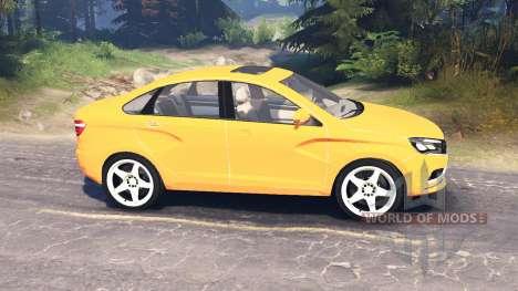 LADA Vesta (ВАЗ-2180) v2.0 for Spin Tires