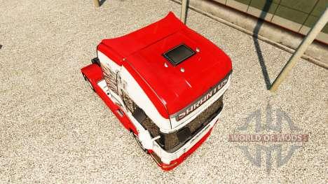 Sarantos skin for Scania truck for Euro Truck Simulator 2