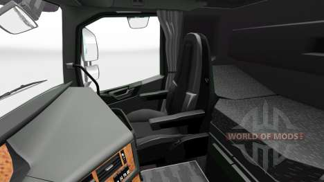 Darkline Exclusive interior for Volvo for Euro Truck Simulator 2