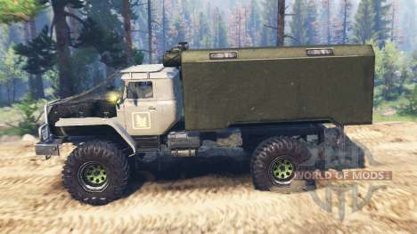 Ural-43206 [hurricane] v2.0 for Spin Tires