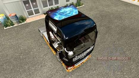 Eminem skin for MAN truck for Euro Truck Simulator 2