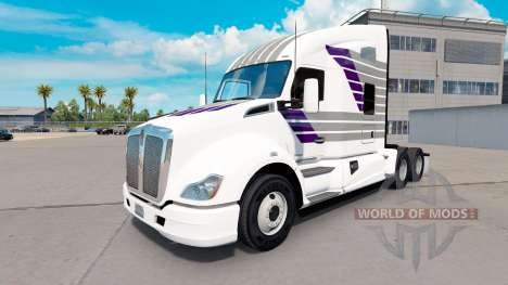 Skin Scllops on a Kenworth tractor for American Truck Simulator