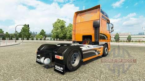 Skin DAF XF tractor DAF XF 105.510 for Euro Truck Simulator 2