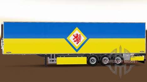 Semi-Trailer Chereau Eintracht Braunschweig for Euro Truck Simulator 2
