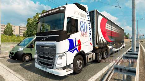 Skins for truck traffic v1.3.1 for Euro Truck Simulator 2