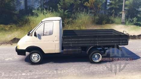 GAZ-3302 Gazelle v2.0 for Spin Tires