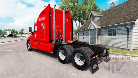 Chivas skin for the truck Peterbilt for American Truck Simulator