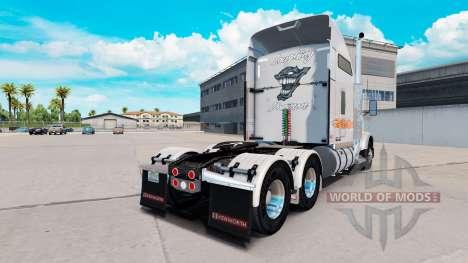 Скин Laughing Daemon Metallic на Kenworth T800 for American Truck Simulator