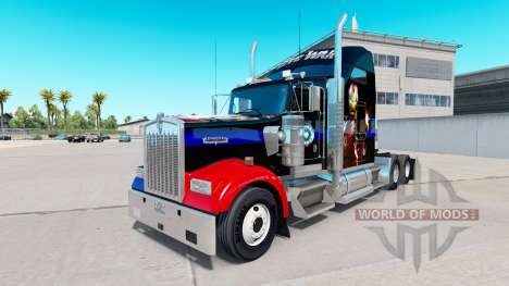 Skin Civil War for the truck Kenworth W900 for American Truck Simulator