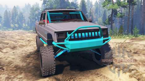 Jeep Grand Cherokee Comanche [pre-runner] for Spin Tires