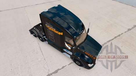 Skin The Division of the Kenworth truck for American Truck Simulator