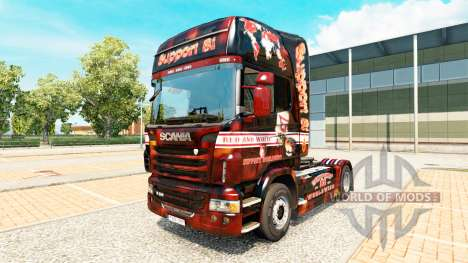 Support 81 skin for Scania truck for Euro Truck Simulator 2