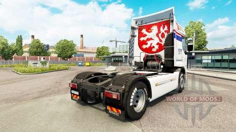 CSAD skin for Renault truck for Euro Truck Simulator 2