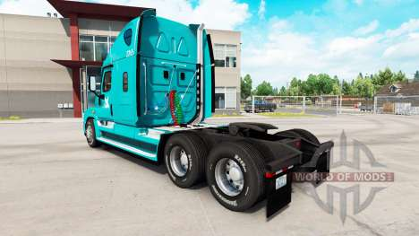 Skin TUM on tractor Freightliner Cascadia for American Truck Simulator