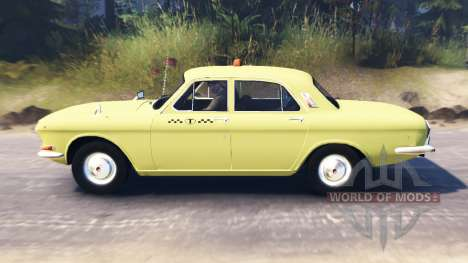 GAZ-24 Volga Taxi for Spin Tires