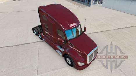 Skin Millis Transfer Inc. on the truck Kenworth for American Truck Simulator