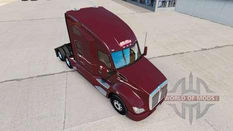 Skin Millis Transfer Inc. on the truck Kenworth for American Truck Simulator