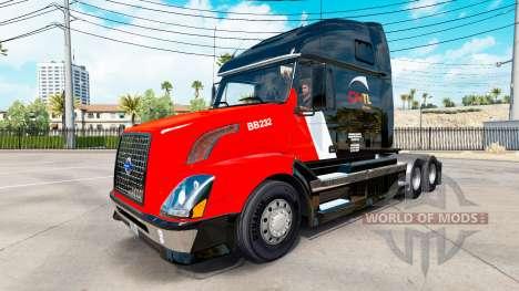 CNTL skin for Volvo truck VNL 670 for American Truck Simulator