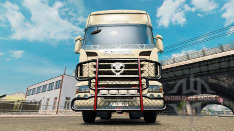 The V8 bumper on the tractor Scania for Euro Truck Simulator 2