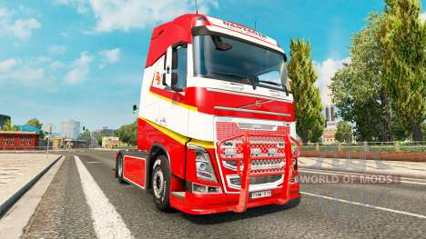 Tuning for Volvo FH for Euro Truck Simulator 2