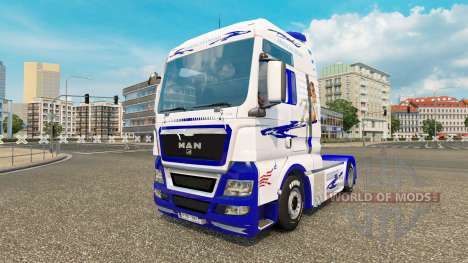 American Dream skin for MAN truck for Euro Truck Simulator 2