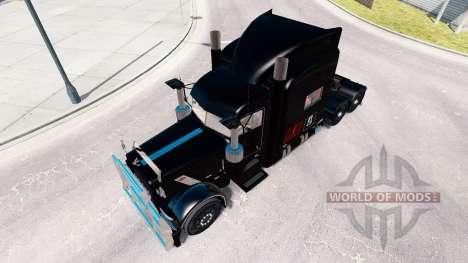 Pride Transport skin for the truck Peterbilt 389 for American Truck Simulator