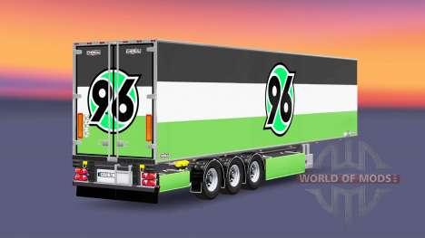 Semi-Trailer Chereau Hannover 96 for Euro Truck Simulator 2