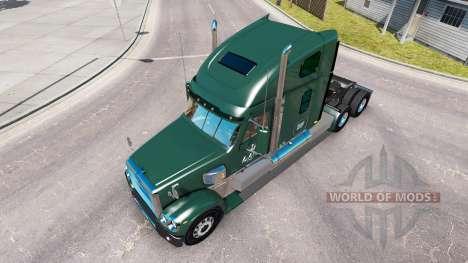 Skin LDI on the truck Freightliner Coronado for American Truck Simulator