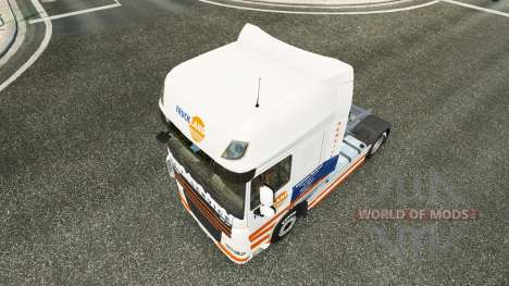Truckland skin for DAF truck for Euro Truck Simulator 2