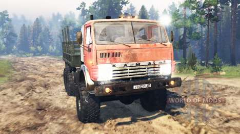 KamAZ-53212 Soviet Union for Spin Tires
