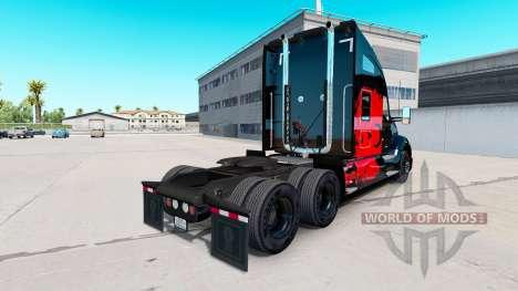 Skin Turkish Power tractor Kenworth for American Truck Simulator
