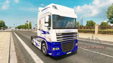 American Dream skin for DAF truck for Euro Truck Simulator 2