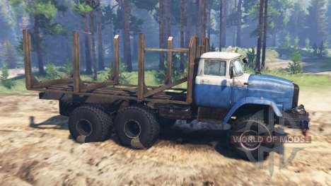 ZIL-Э133ВЯТ for Spin Tires