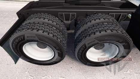 Tyre Hankook v1.2 for American Truck Simulator