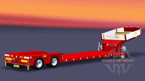 Low bed trawl Doll Vario for Euro Truck Simulator 2