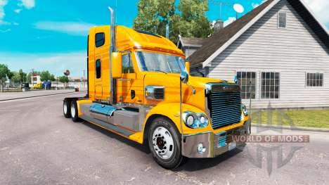 Skin Metallic on the truck Freightliner Coronado for American Truck Simulator