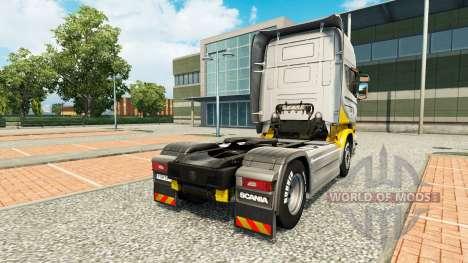 Maroni Transport skin for Scania truck for Euro Truck Simulator 2