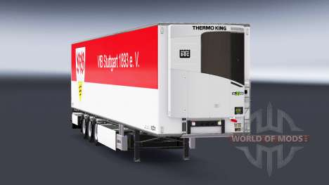 Semi-Trailer Chereau VfB Stuttgart for Euro Truck Simulator 2