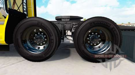 Forged aluminum Alcoa wheels v1.5 for American Truck Simulator