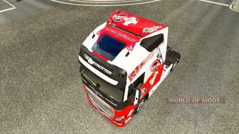 Skin 1. FC Koln at Volvo trucks for Euro Truck Simulator 2