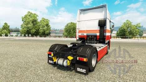 Die Nabers skin for DAF truck for Euro Truck Simulator 2
