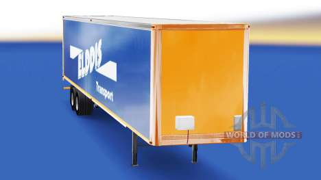 Skin Elddis Transport on semi-trailer for American Truck Simulator