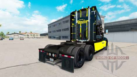 Pittsburgh Steelers skin for the Kenworth tracto for American Truck Simulator
