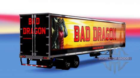 All-metal semi-Bad Dragon for American Truck Simulator