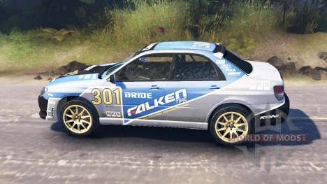 Subaru Impreza WRX 2007 for Spin Tires