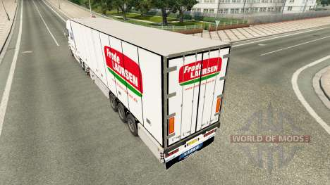 The semitrailer-the refrigerator Narco for Euro Truck Simulator 2