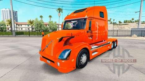 Skin Holland tractor Volvo VNL 670 for American Truck Simulator