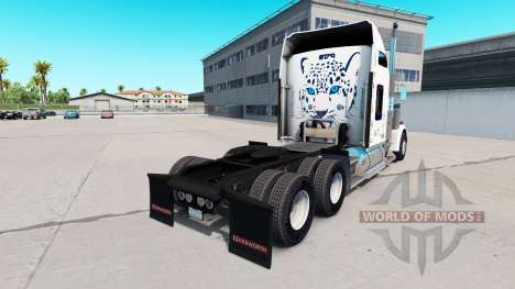 Skin Mastercraft Cabinets on the truck Kenworth  for American Truck Simulator