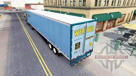 All-metal semi-trailer for American Truck Simulator